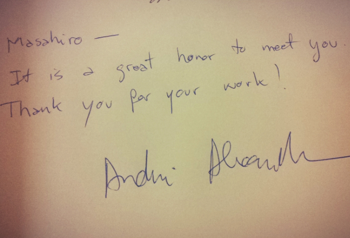 """Andrei sign"""